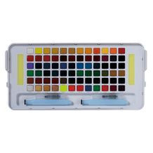 Sakura Koi Watercolour Half Pan Studio Assorted Colours Set of 72