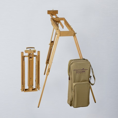 Jullian Oiled Beechwood Watercolour Easel + Carrying Bag | Cass Art