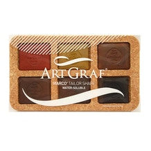 ArtGraf Tailor Shape Water Soluble Earth Colours Set of 6