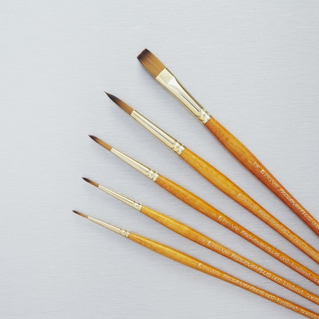 Pro Arte Prolene Plus Series 007/008 Watercolour Brush Set of 5 | Cass Art Exclusive