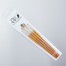Pro Arte Prolene Plus Series 007/008 Watercolour Brush Set of 5 - Cass Art Exclusive