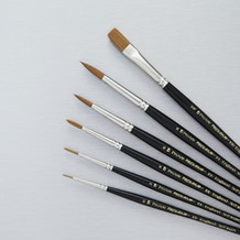 Pro Arte Prolene Series 101/106 Watercolour Brush Set of 6 - Cass Art Exclusive