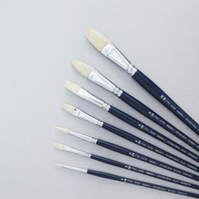 Pro Arte Studio Hog Set Series C Oil and Acrylic Brush Set of 7 - Cass Art Exclusive