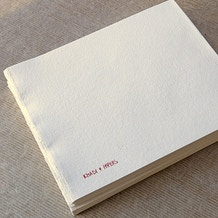 Khadi Block Book 210gsm Rough Medium 32 pages 21 x 25cm