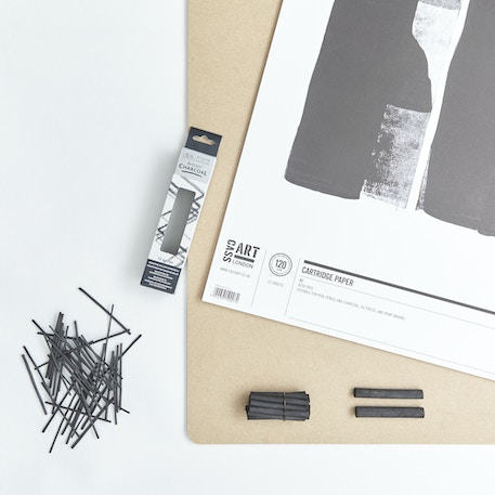 Life Drawing Set with Board, Paper & Charcoal | Cass Art