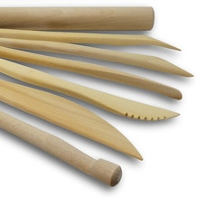 Das Wooden Modelling Tools Set of 7
