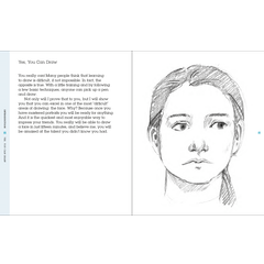 Draw Faces In 15 Minutes By Jake Spicer Cass Art Cass Art