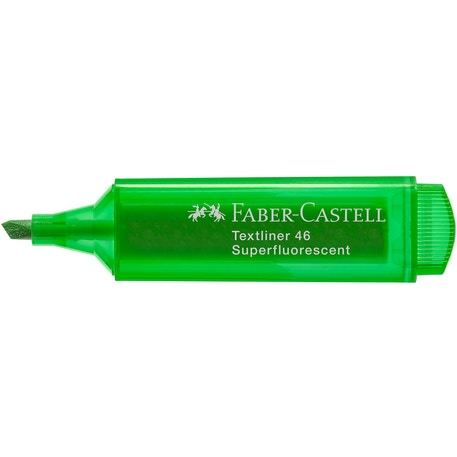 Faber-Castell Textliner 46 Superfluorescent Highlighters Set of 4 | Cass Art
