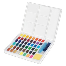 Faber Castell Goldfaber Creative Studio Watercolour Pan Set of 48