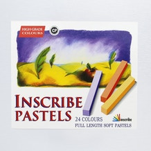 Inscribe Soft Full Length Pastels Set of 24
