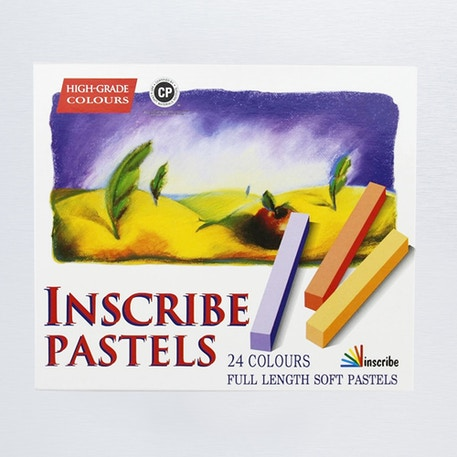 Inscribe Soft Pastel Set of 24 | Cass Art
