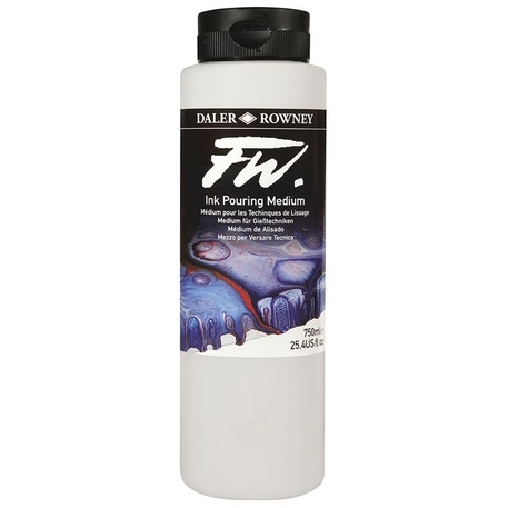 Daler Rowney FW Acrylic Ink Pouring Medium 750ml | Cass Art