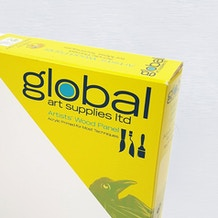 Global Artist Panel Gesso Primed