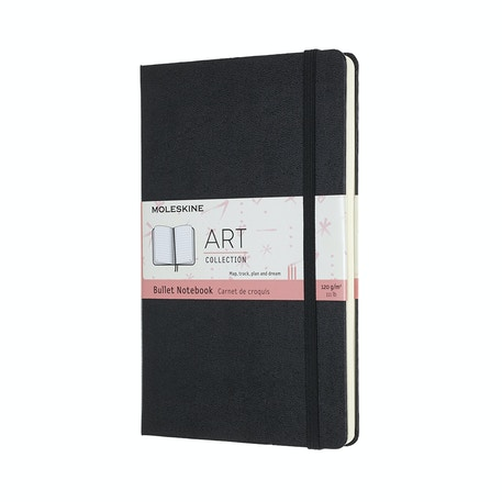 Moleskine Art Bullet Notebook Large Black | Cass Art