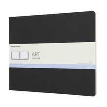 Moleskine Art Cahier Sketch Album - Black