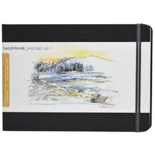 hand.book Travelogue Journal Large Landscape Sketchbook (5.5 x 8.25 inch)