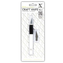 Xcut Craft Knife With Soft Grip 9mm