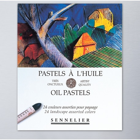 Sennelier Oil Pastel Landscape Set of 24 | Cass Art