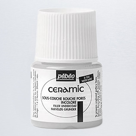 Pebeo Ceramic Filler Undercoat 45ml | Cass Art