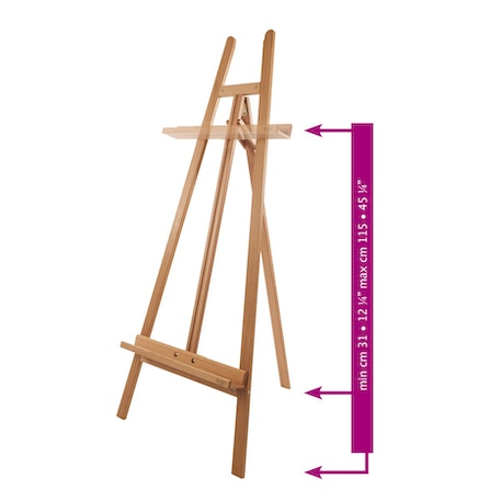 Mabef M20 Lyre Easel | Cass Art