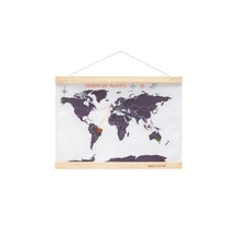 Suck UK Cross Stitch Mini World Map