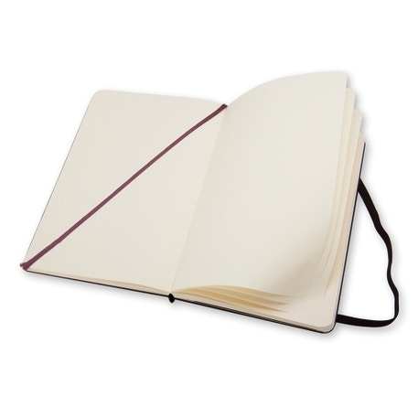 Moleskine Large Plain Notebook | Cass Art