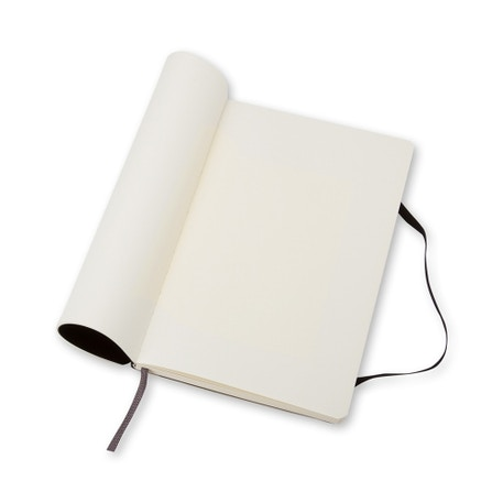 Moleskine Soft Plain Large Notebook | Cass Art