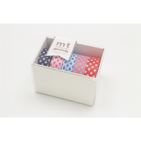MT Washi Masking Tape Gift Box POP 2 Pack of 5 Rolls | Cass Art