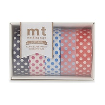 MT Washi Masking Tape Gift Box POP 2 Pack of 5 Rolls