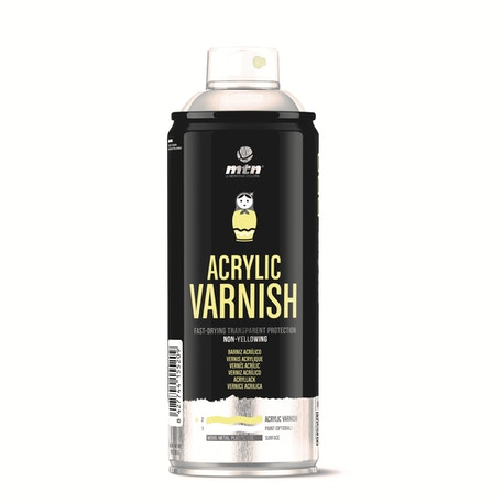 MTN Pro Acrylic Varnish 400ml | Cass Art
