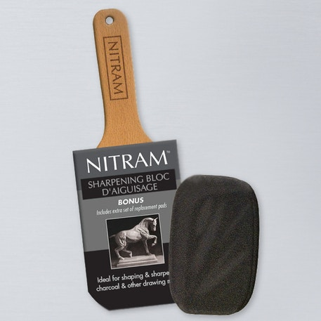 Nitram Sharpening Block | Cass Art
