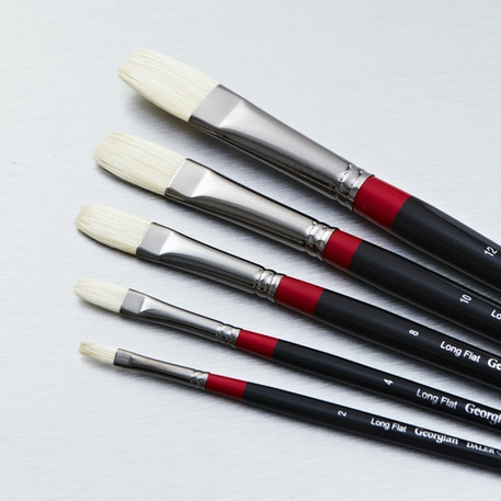 Daler Rowney Georgian Long Flat | Cass Art
