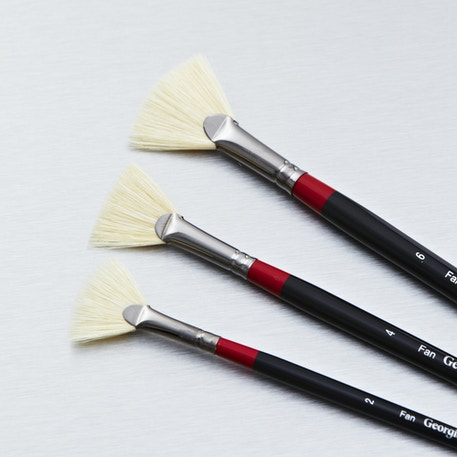 Daler Rowney Georgian Fan | Artist Brushes | Cass Art