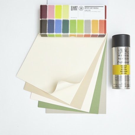 Starting with Pastels Set with Pastels, Paper & Fiixative | Cass Art