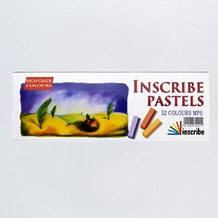 Inscribe Soft Pastel Set of 32