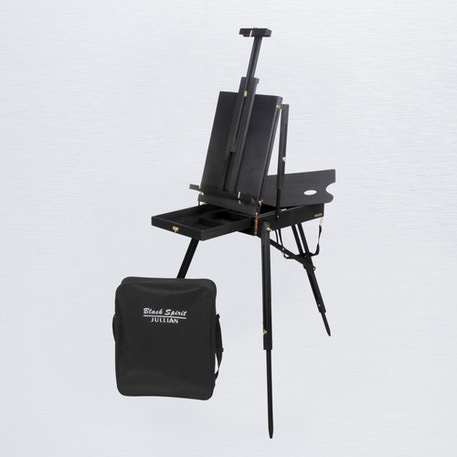 Jullian Black Spirit Full Size French Easel + Carrying Bag | Cass Art