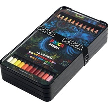Posca Colour Pencil Assorted Colours Set of 36