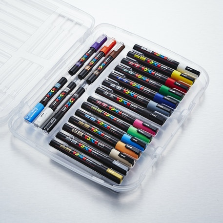 Posca Paint Markers Case Set of 20 | Cass Art