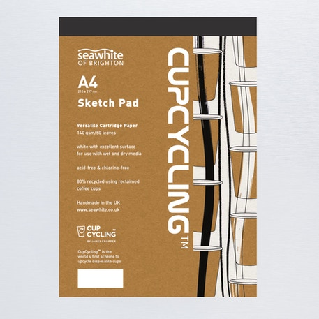 Seawhite CupCycling Cartridge Pad 140gsm 50 sheets | Cass Art