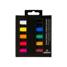 Rembrandt Soft Half Pastels General Selection Set of 10