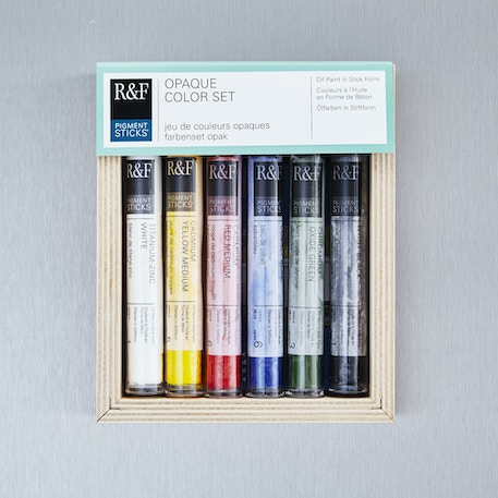R&F Pigment Stick Opaque 38ml Set of 6 | Cass Art