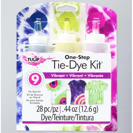 Tulip Tie Dye Kit Assorted Colours Pack of 3 | Fabric Dye | Cass Art