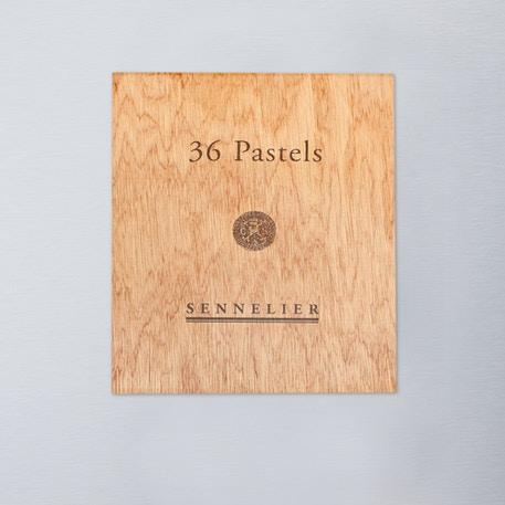 Sennelier Oil Pastel Landscape Colours in Wooden Box Set of 36 | Cass Art