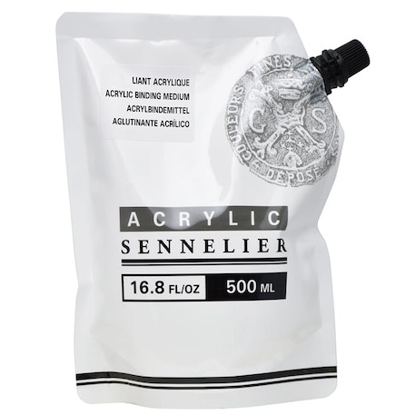 Sennelier Abstract Acrylic Binding Medium - 500ml | Cass Art