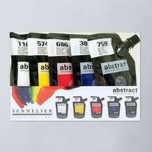 Sennelier Abstract Intro 120ml Set of 5