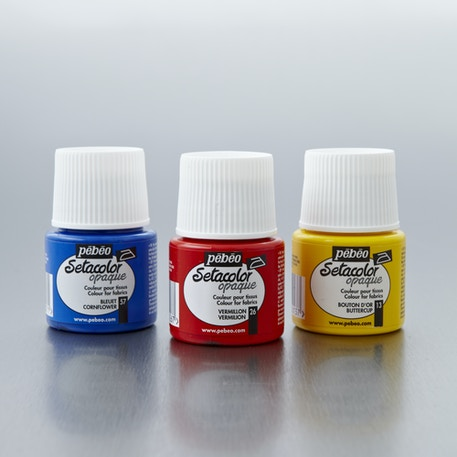 Pebeo Setacolor Fabric Paint Opaque 45ml | Cass Art