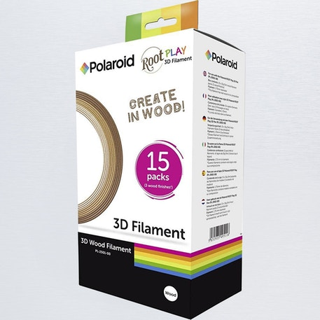 Polaroid 3D Wood Filament Set of 15  | Cass Art