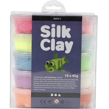 Creativ Silk Clay Basic 40g  Set of 10