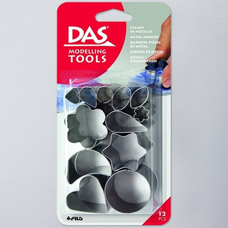 Das Metal Moulds Set of 12 | Cass Art