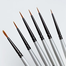 Pro Arte Masterstroke Miniature Painters Brush Cass Exclusive Set of 6